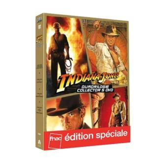 Indiana JonesIndiana Jones La Quadrilogie Edition Fnac limitée DVD