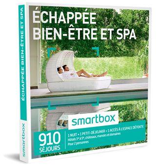 coffret cadeau smartbox echapp e bien tre et spa coffret cadeau achat prix fnac. Black Bedroom Furniture Sets. Home Design Ideas