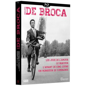 Coffret De Broca 4 films Blu-ray