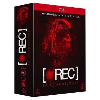 [REC.]Coffret intégrale [rec] : [rec] ; [rec]² ; [rec]³ Genesis ; [rec] 4 - Apocalypse 4 Blu-ray