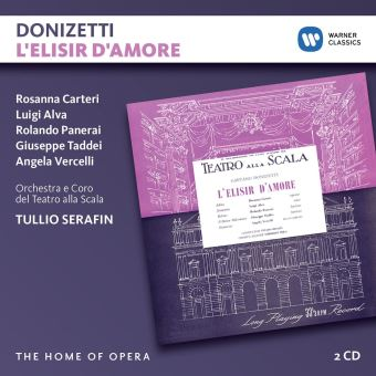 DONIZETTI:L ELISIR D AMORE/2CD