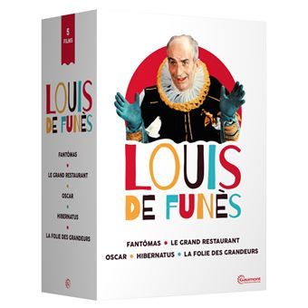 Coffret Louis de Funès 5 Films DVD