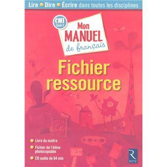 Mon Manuel De Francais Cm1 Fic