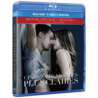 Fifty ShadesCinquante nuances plus claires Combo Blu-ray DVD