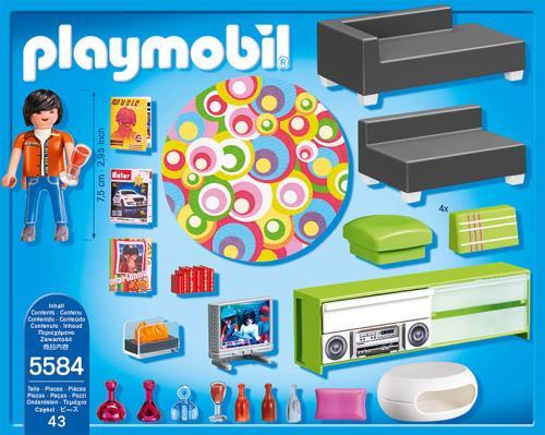 Playmobil City Life 5584 Salon Moderne   Playmobil   Achat U0026 Prix   Fnac