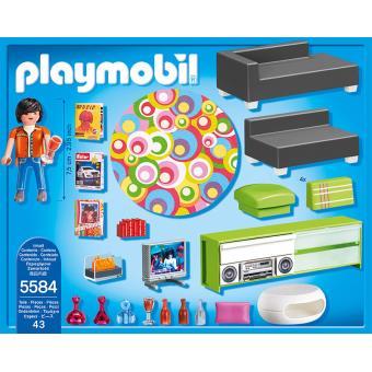 WOONKAMER / SALON MODERNE - Playmobil - Fnac.be