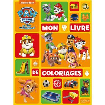 Pat Patrouille Nouvelle Edition Mon Livre De Coloriages Collectif Broche Achat Livre Fnac