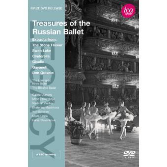 TREASURES OF THE RUSSIAN BALLET/DVD