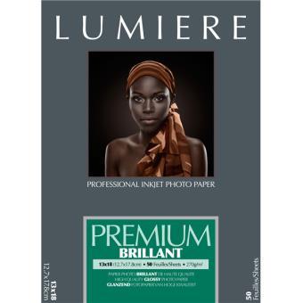 Pack Papier Photo Ilford Lumière Premium, Brillant 270 g/m²
