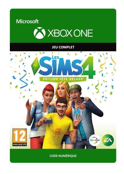 Code de téléchargement Les Sims 4 : Edition Fête Deluxe Xbox One