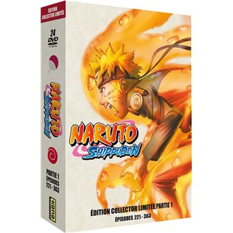 Naruto ShippudenCoffret Naruto Shippuden Partie 1 Edition Collector Limitée DVD