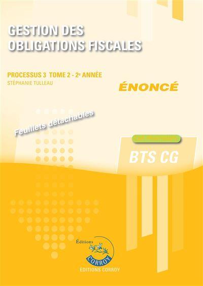 Gestion des obligations fiscales t2 - enonce