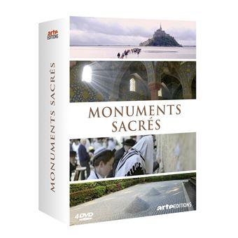 Coffret Monuments sacrés DVD