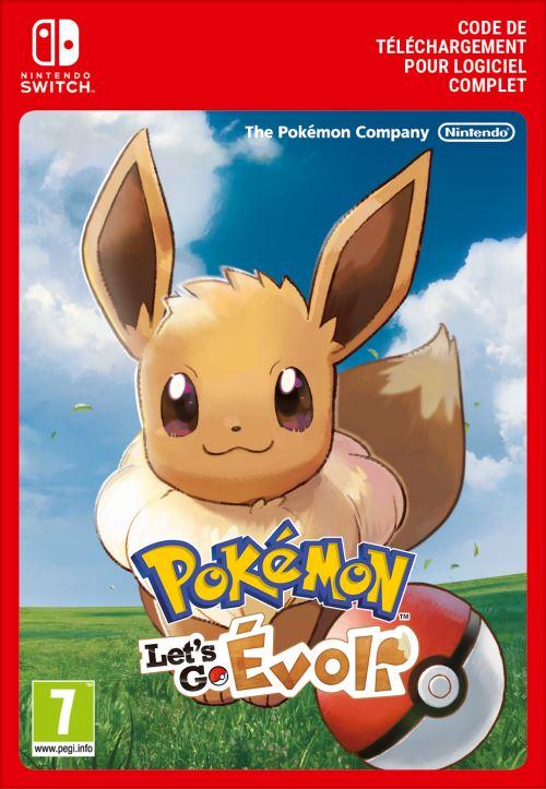 Code de téléchargement Pokémon Let's Go, Évoli ! Nintendo Switch