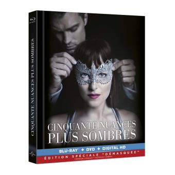 Fifty shadesCinquante nuances plus sombres Digibook Combo Blu-ray + DVD