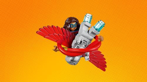Marvel En Lego® Avion America Captain La 76076 Poursuite De HE29DWI