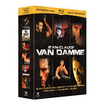 Coffret Jean-Claude Van Damme 6 Films Blu-ray