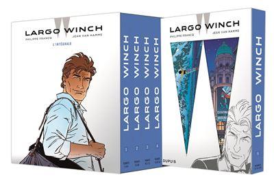 Leporello pour Coffret Largo Winch