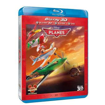 PlanesPlanes Combo Blu-Ray 3D + DVD