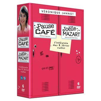 Pause-café Joelle Mazart L'intégrale Coffret DVD