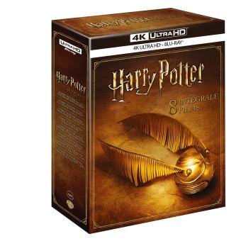 Harry PotterCoffret Harry Potter L'intégrale des 8 films Blu-ray 4K Ultra HD