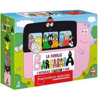 BarbapapaLa famille Barbapapa Coffret 9 films Edition spéciale Fnac DVD