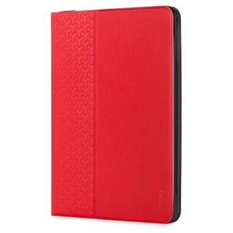 Etui rotatif Targus EverVu Rouge pour iPad Pro, iPad Air 2 et iPad Air 9.7""