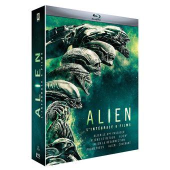 AlienAlien L'intégrale Coffret des 6 films Blu-ray