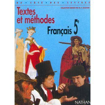 Francais 5e Textes Ed 97