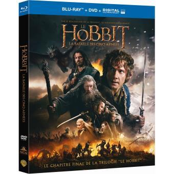 Bilbo le HobbitLe Hobbit : La bataille des cinq armées - Blu-ray