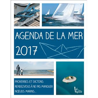 Agenda 2017 de la mer