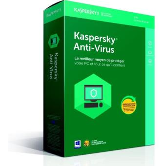 Kaspersky Antivirus 2018 3 Postes 1 An