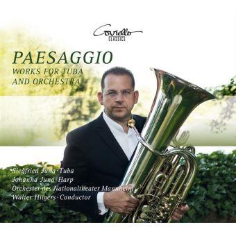 Paesaggio/oeuvres pour tuba et orchestre