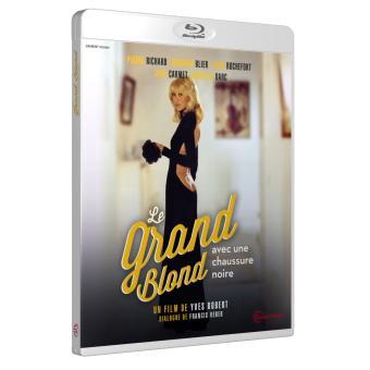 Le Grand Blond avec une chaussure noire Blu-ray