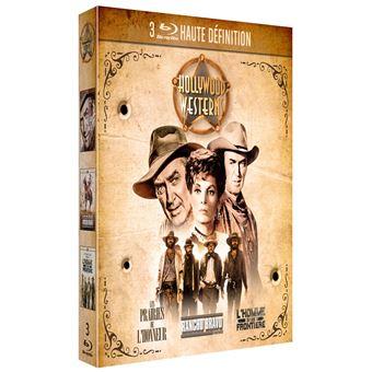 Coffret Western de légende 3 Films Blu-ray