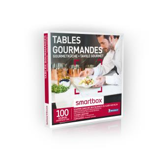 Coffret cadeau Smartbox Tables gourmandes