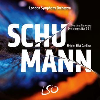 Schumann: Sinfonias 2 & 4 - CD