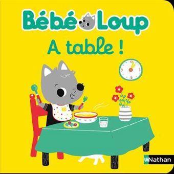 Bébé LoupBébé Loup à table