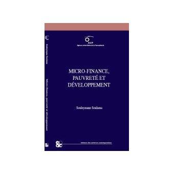 Micro-finance, pauvreté et développement - Souleymane Soulama