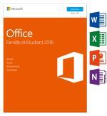 MS Office Famille et Etudiant 2016 1 PC