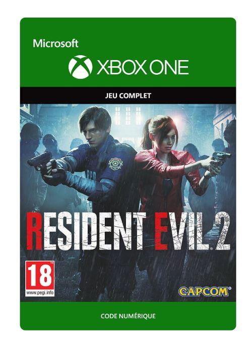 Code de téléchargement Resident Evil 2 Xbox One