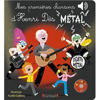 Mes premières chansons d'Henri Dès métal