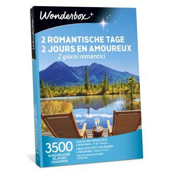 Coffret cadeau Wonderbox 2 jours en amoureux