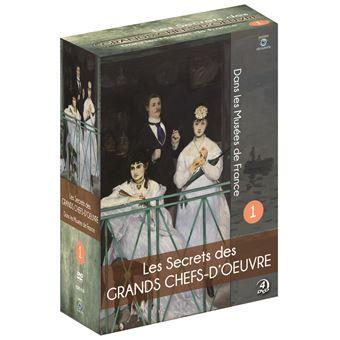 Coffret Les Secrets des grands Chefs-d'œuvre dans les Musées de France Volume 1 DVD