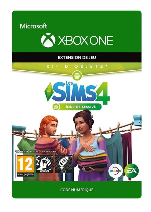 Code de téléchargement The Sims 4 Laundry Day Stuff Xbox One