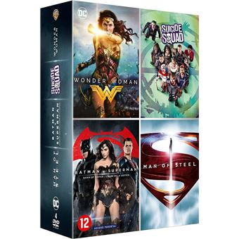 Wonder WomanCoffret DC Comics DVD