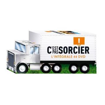 """C'est pas sorcierCoffret 44 DVD - Packaging """"Camion"""""""