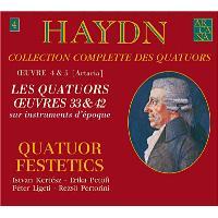 Quatuors à cordes Opus 33 n.1 à 6