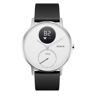 Montre connectée Nokia Steel HR 36 mm Blanche