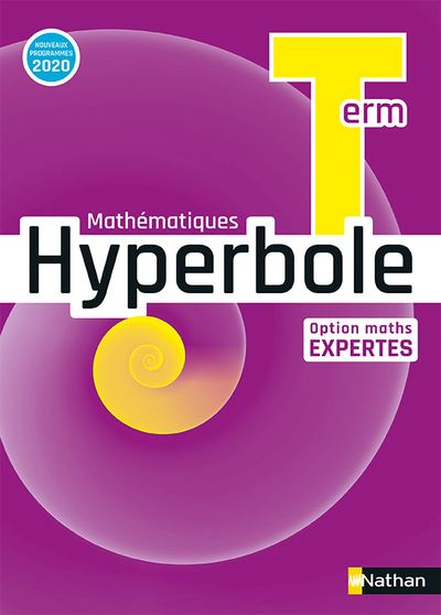 Hyperbole Term - Option Maths Expertes - Manuel 2020